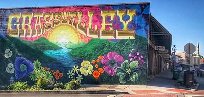 Grass Valley Mural