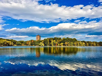 Jamaica Pond in the Jamaica Plain neighborhood of Boston, Massachusetts. Shot with iPhone 6s.