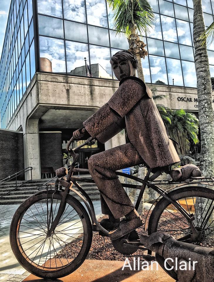 Iron Art, Edgardo Carmona, Downtown, Fort Myers, Florida