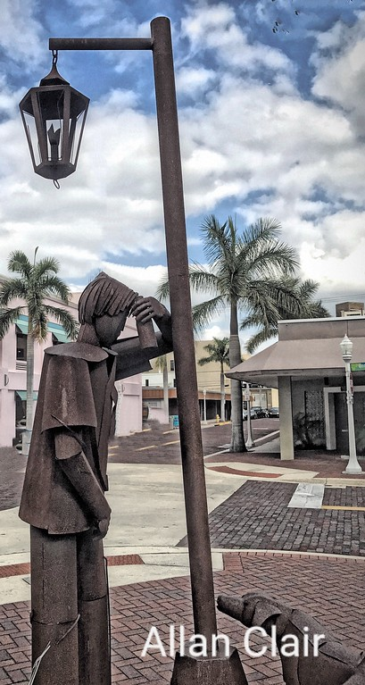 Iron Art, Edgardo Carmona, Downtown Fort Myers, Florida