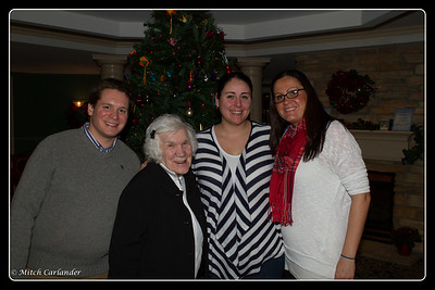 The Christmas photo with my Mother and her grandchildren...