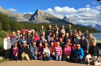 Canadian Rockies team picture !
