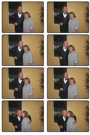Erika and I in the Photo Booth at Brittany's Wedding...
