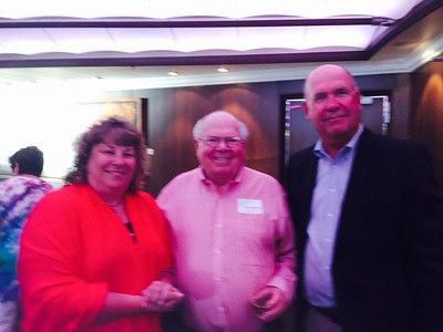 Erika and I met Vern Lundquist on our Mediterranean Cruise.  What a gentleman...many, many great stories...