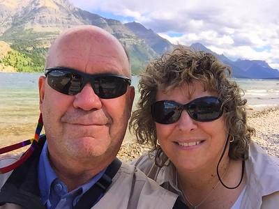 More selfies in the Canadian Rockies
