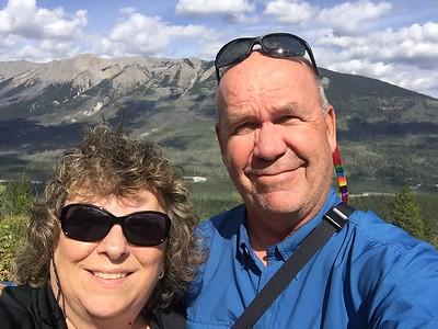 Selfie in the Canadian Rockies