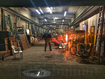 Late night in the workshop