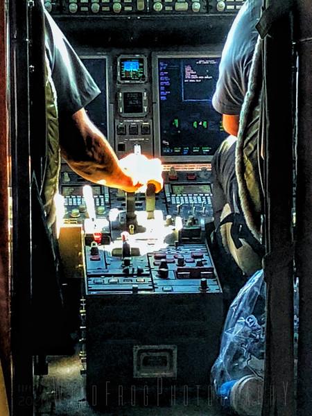 Flight deck and Pilot's