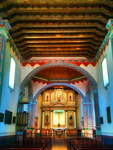 San Luis Rey Mission - Southern California