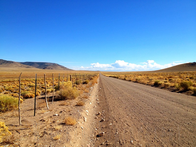 Country road near Antonito Colorado