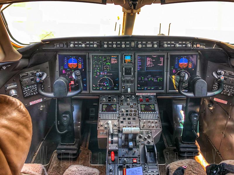 Jet Flight deck