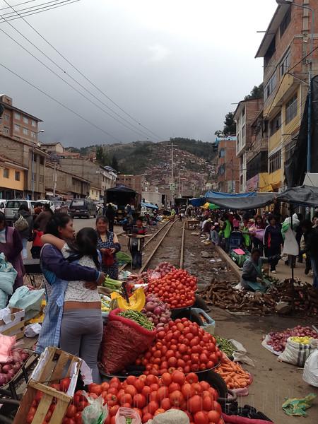 more markets nea the rail tracks