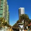 San Diego - Down town rail
