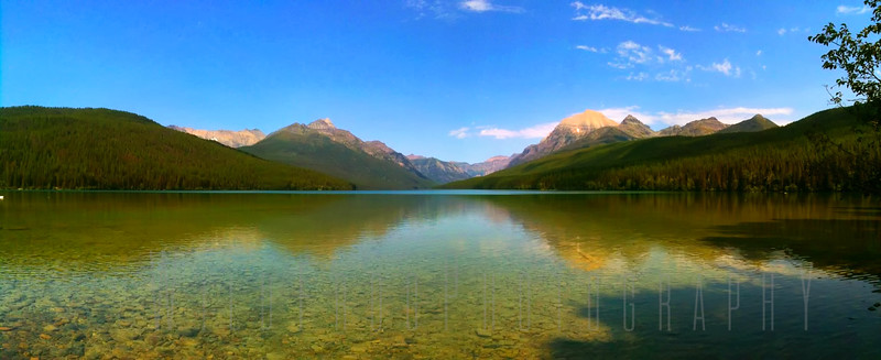 Lake Bowman - Glacier National Park - Montana