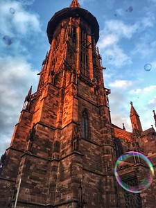 Bubbles and religion