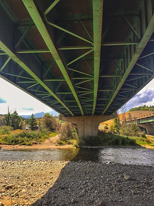 Under the I-70 at Silverthorne