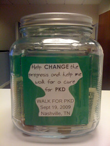 Help change the prognosis and help me walk for a cure for PKD.