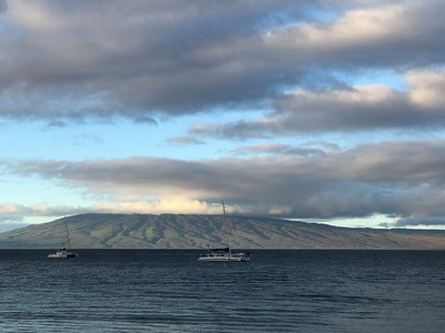 Morning over Lanai
