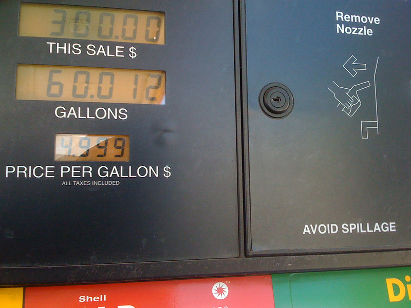 $300 tankful.  Ouch!