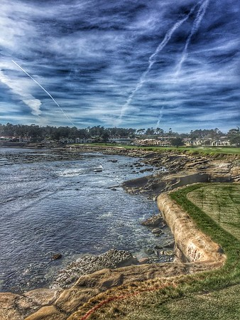 Hole 18, Pebble Beach