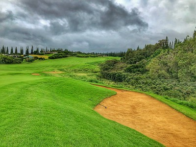 Hole 18 Kapalua Plantation