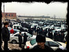 Car market at Namangan, Andijon Region