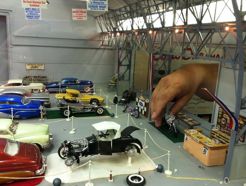 Oakland Roadster Show Diorama
