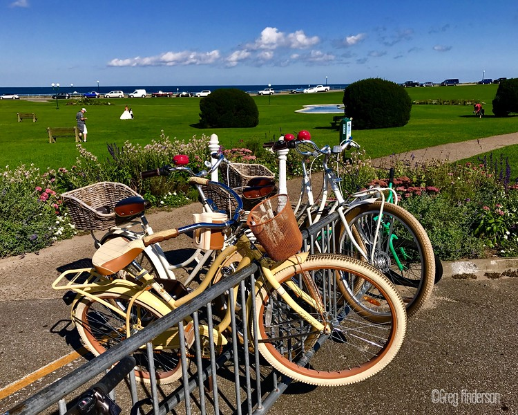 Bikes in Oak Bluffs