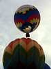 Hot air balloons at St. Mary's school, Oak Ridge, TN.
