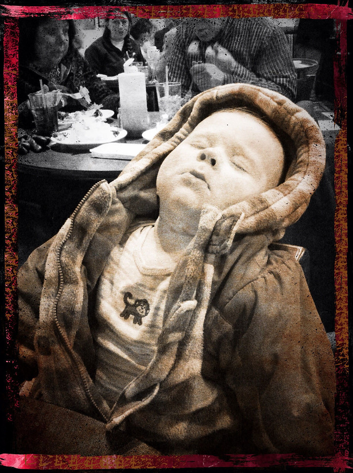 ~ Passed Out ~ At Timothy's Grill & Pizzeria - Le, MA