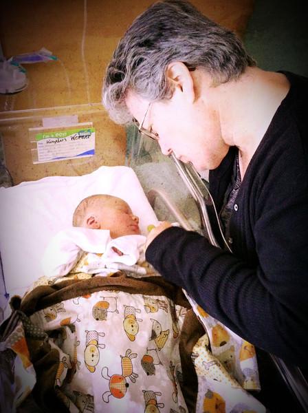 Kayden Mathew Werner 17 May 2012 - 30 min 'till discharge