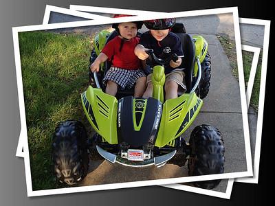 ~ Dune Buggy Racing - Kyler 3 & Kayden 1 ~