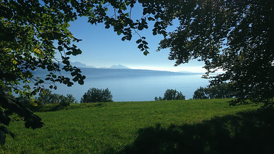 Lac Léman vu du Signal