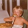 David 3, eating!