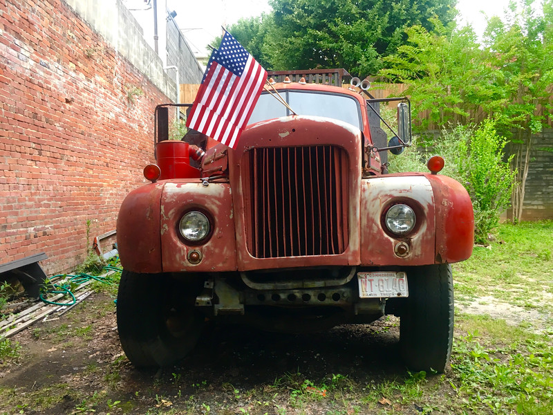 Red Truck in America, South Carolina