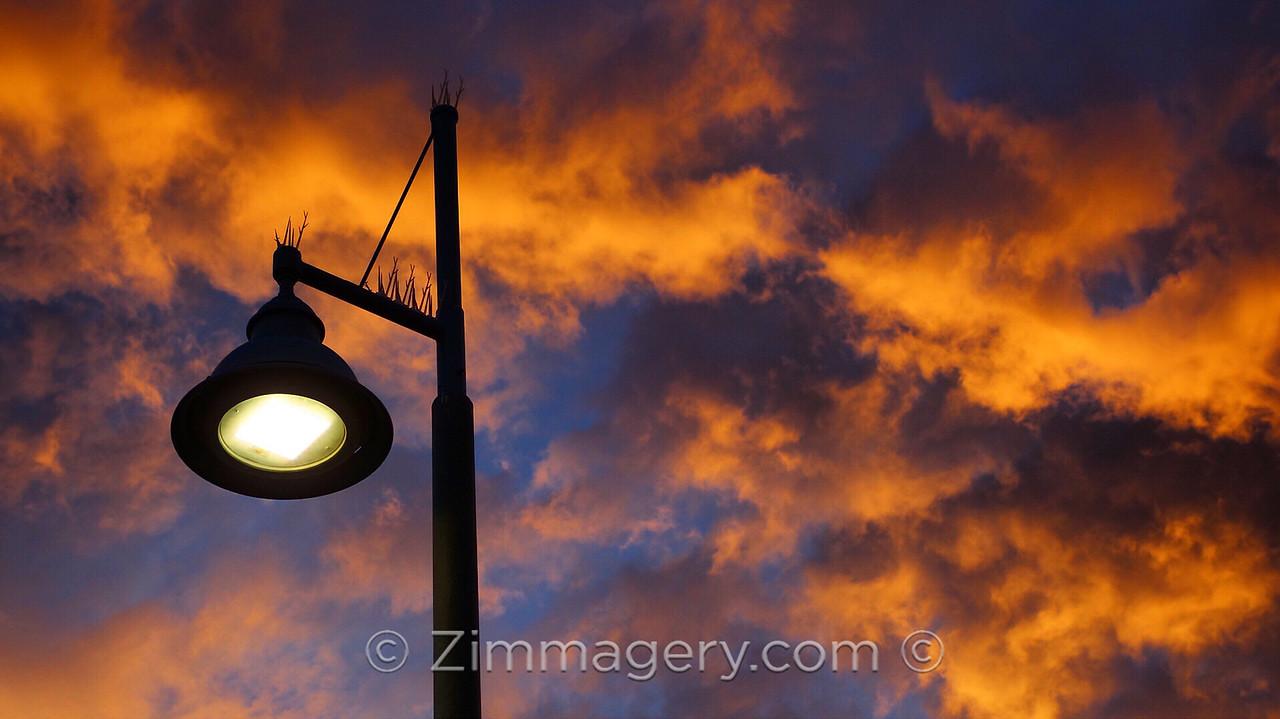 Angry Sky, Venice Pier