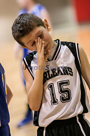 Mitchell vs  Orleans 6th Grade B Boys Basketball 2014
