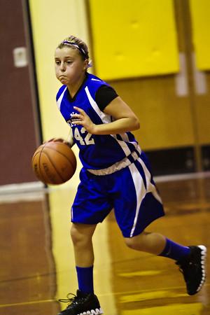 St Peters vs Immanuel Lutheran 6th Grade Girls Basketball