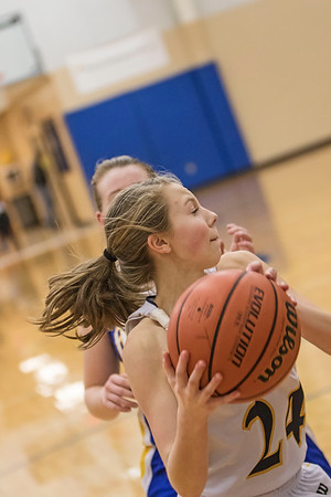Rising Sun vs Trinity Lutheran JV Girls Basketball 2015