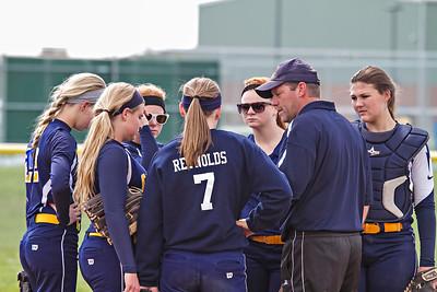 Orleans vs Trinity Lutheran Varsity Softball 2014