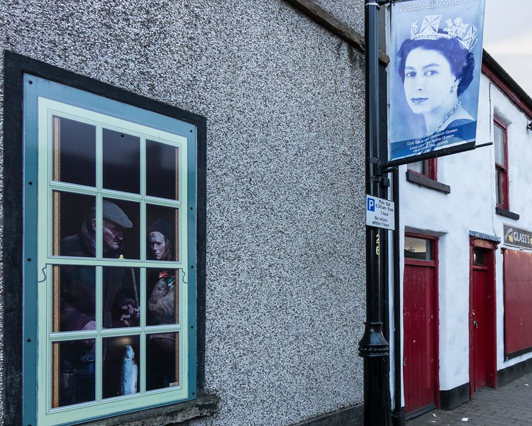BUSHMILLS,  WINDOW PAINTING