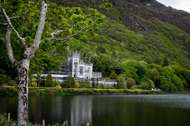 KYLEMORE, FORMER PRIVATE MANSION NOW ABBEY FOR BENEDICTINE NUNS