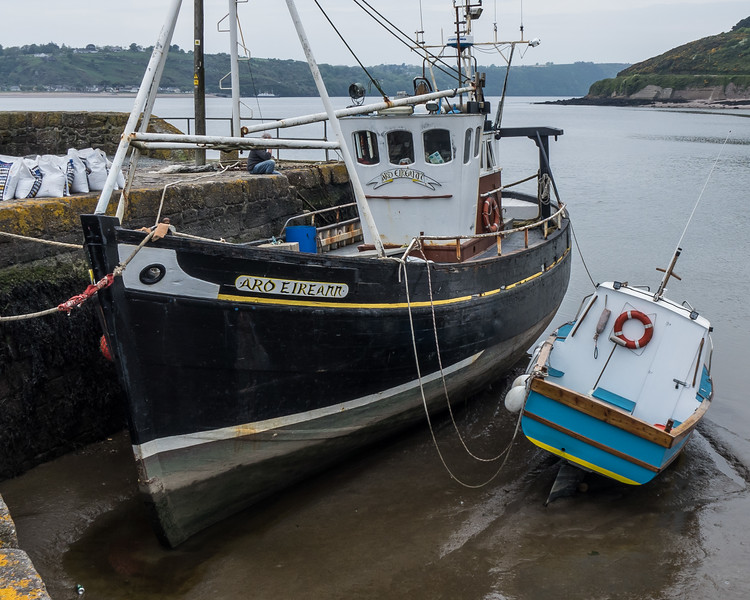 BOATS AT REST, ARTHURSTOWN