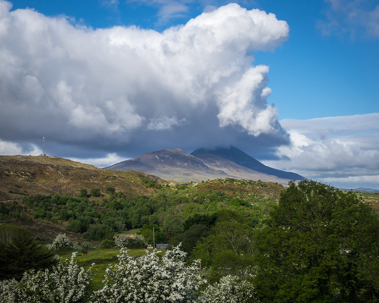 CROAGH PATRICK, WHERE THE SAINT IS SAID TO HAVE FASTED FOR 40 DAYS, NOW THE SITE OF AN ANNUAL PILGRIMAGE FOR 30,000