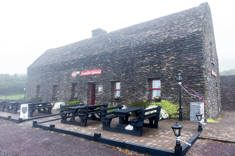 RESTAURANT IN THE FOG, DUNBEG FORT