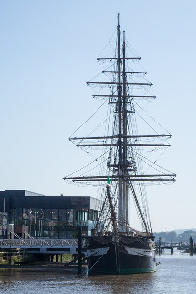 DUNBRODY FAMINE SHIP REPLICA, NEW ROSS