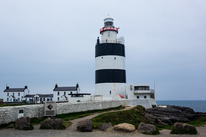 HOOK LIGHTHOUSE, ONE OF THE OLDEST IN THE WORLD