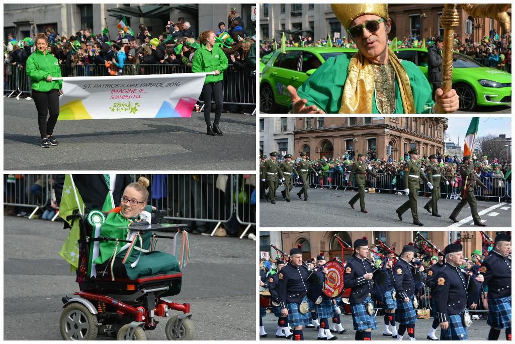 St Patricks Day in Dublin