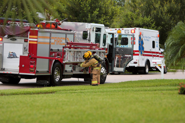 Boat Fire, Lightning House Fire 6-27-09