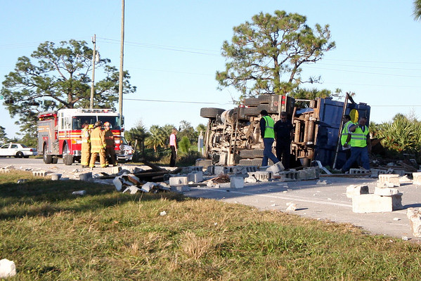 IRFR 58th ave rollover truck